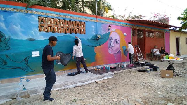 La Cruz de Huanacaxtle tendrá corredor de arte comunitario