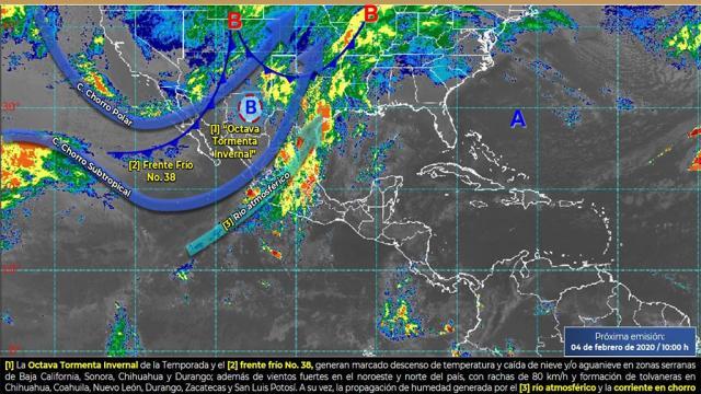Continuarán fuertes lluvias en Jalisco