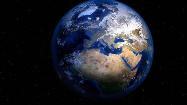 La NASA muestra cómo sería el planeta sin océanos