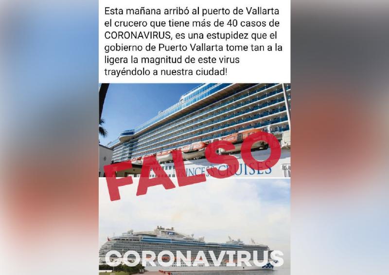 Piden no compartir información falsa del Coronavirus