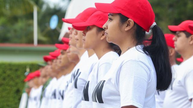 Dan bienvenida a jóvenes del Servicio Militar Nacional, Clase 2001