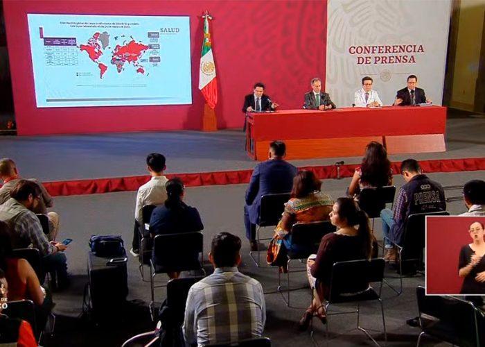 5 muertos y 405 los casos positivos de Covid-19 en México.