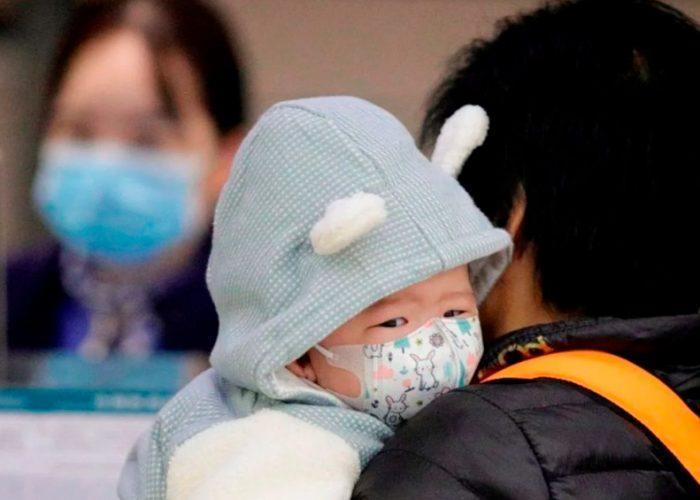 Reportan 3 bebés con coronavirus en México