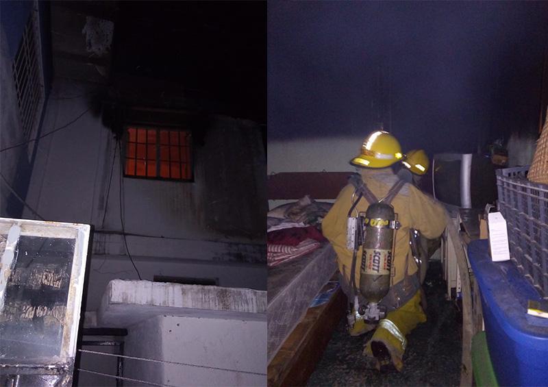 Incendio en domicilio deja cuantiosos daños