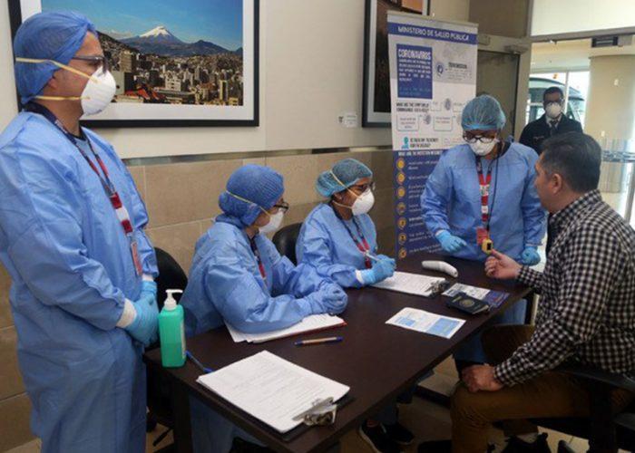 Suben en Ecuador los casos de COVID-19 a 1.595 con 36 muertos