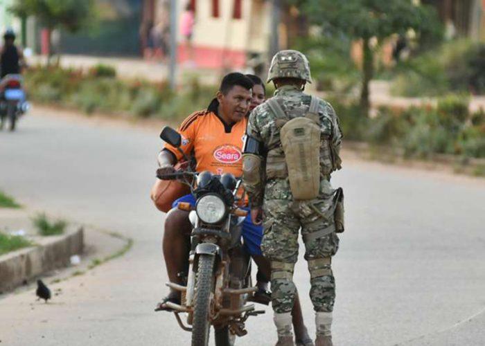 Más de 1.300 personas son arrestadas en Bolivia