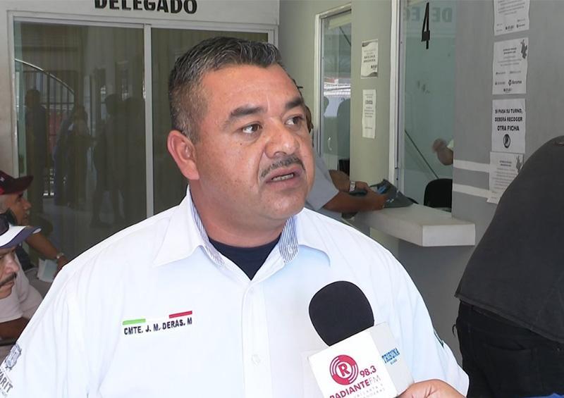 Delegación de Tránsito del Estado trabaja con fichas y medidas de higiene