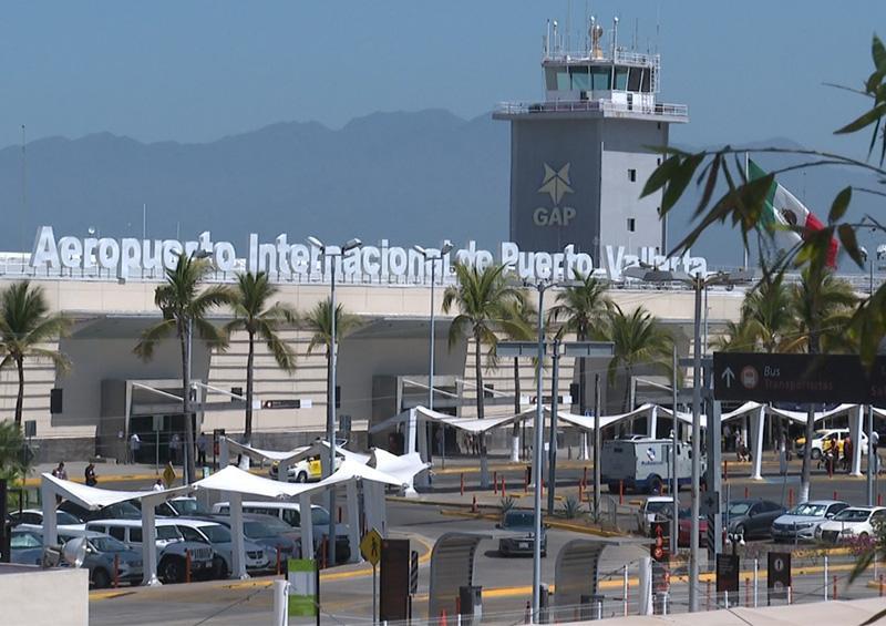 Aeropuertos Internacionales tanto de Puerto Vallarta como Guadalajara se mantienen en funciones