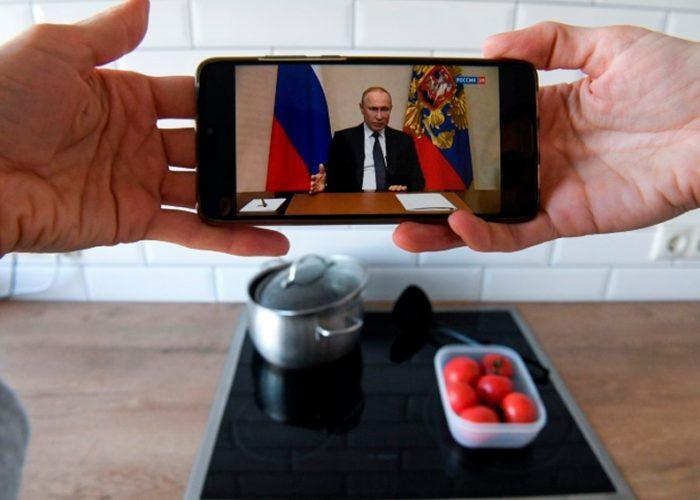 Putin declara asueto laboral por el coronavirus