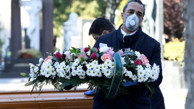 Italia, el más castigado por la pandemia, más de 4 mil muertos