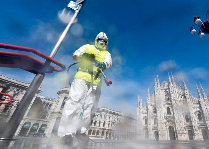 Italia registra 837 muertes por coronavirus en las últimas 24 horas