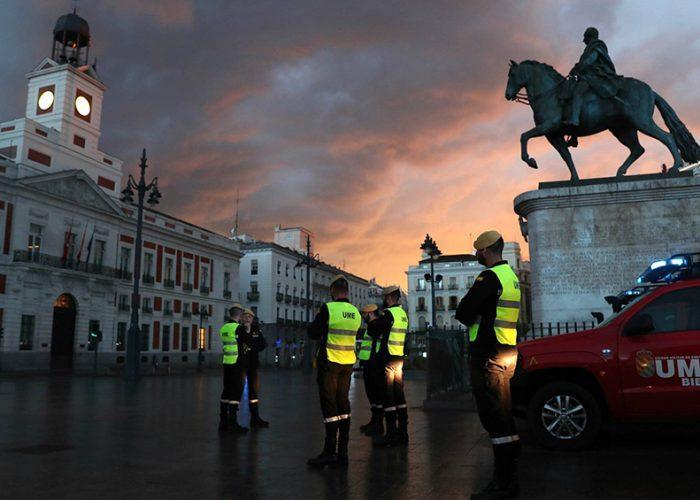 España registra sus peores datos con 8.200 casos del coronavirus y 832 muertes en un día