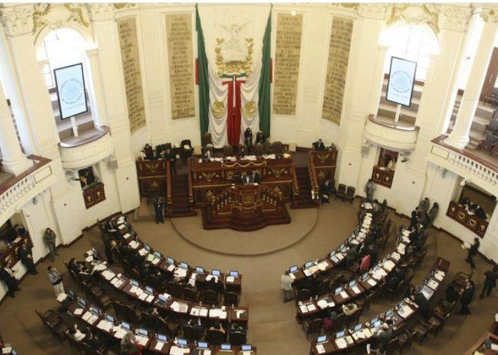 Instruye Congreso capitalino cerrar puertas por COVID-19
