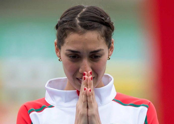 Pentatleta mexicana Mariana Arceo recibe alta tras COVID-19