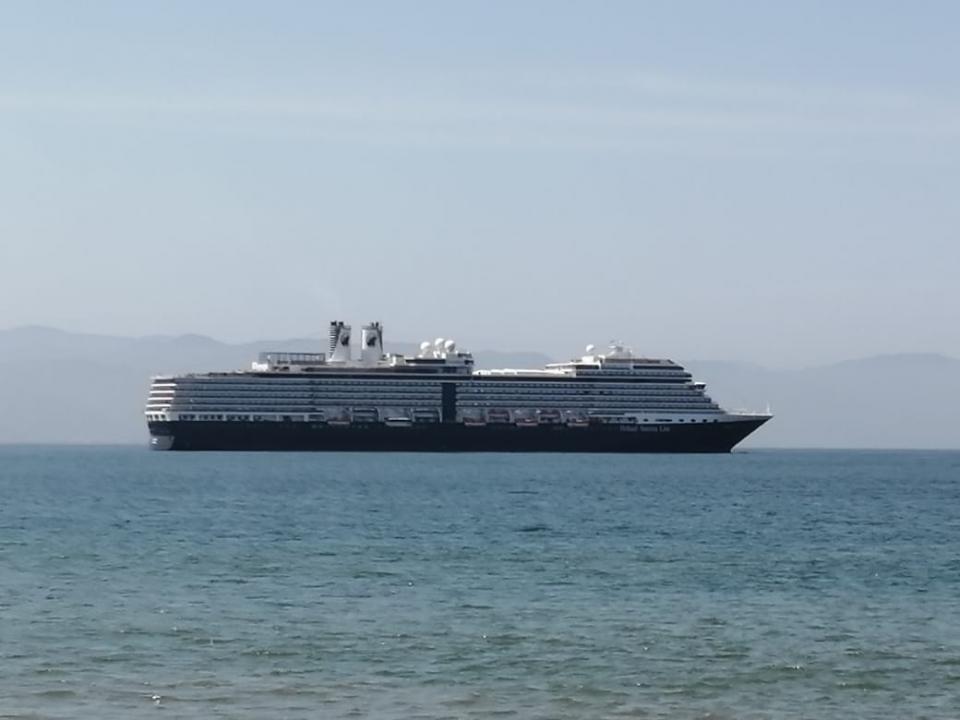 4 cruceros en Vallarta; hoy llegó el Westerdam