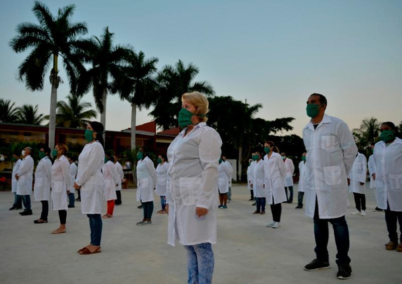 Médicos cubanos van a Andorra a apoyar la lucha contra Covid-19