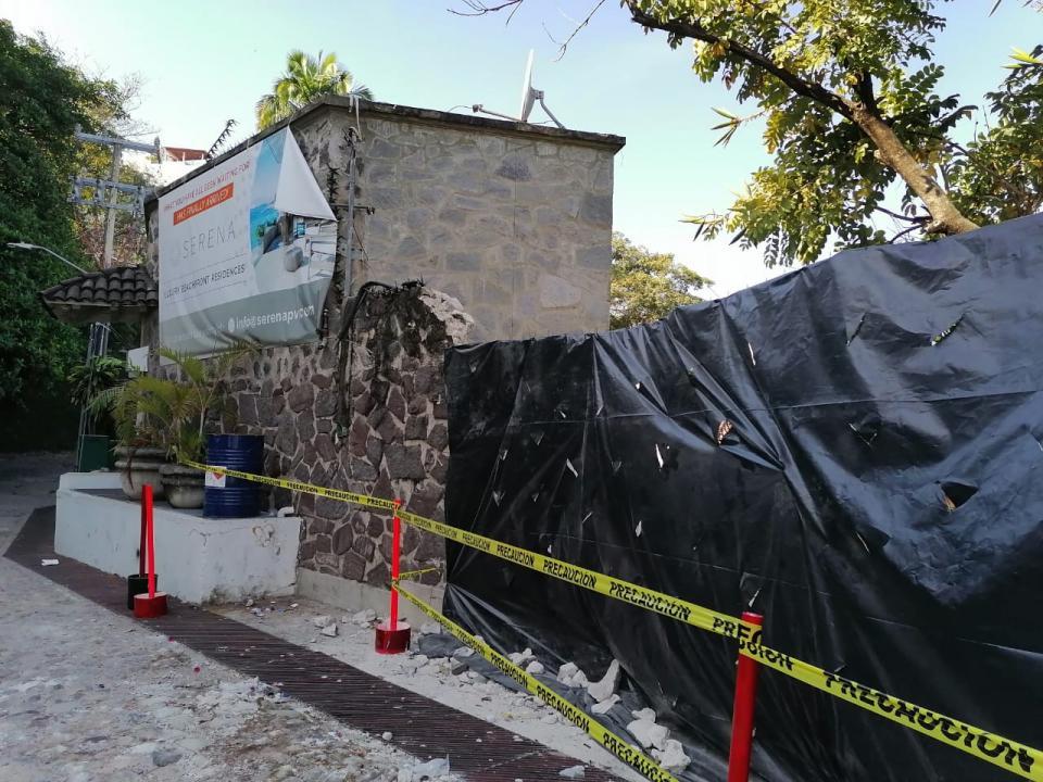 Inician la demolición de Casa Serena en plena contingencia