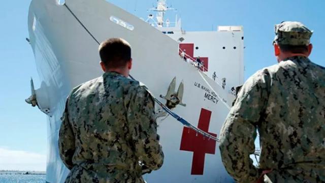 Ingeniero intenta destruir un buque hospital con un tren