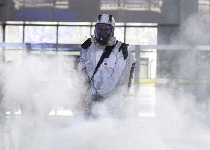 Militares rusos desinfectaron residencias en tres ciudades de Italia