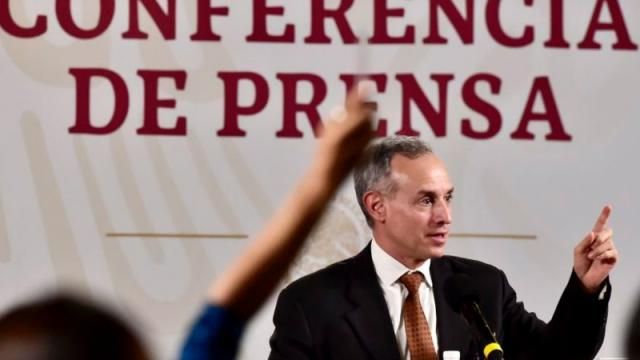 Persona con coronavirus estuvo en conferencia en Palacio Nacional
