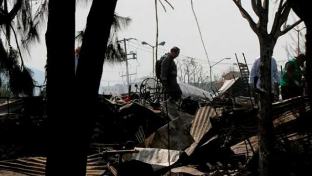 Incendio en asentamiento en CDMX deja a 200 familias indefensas