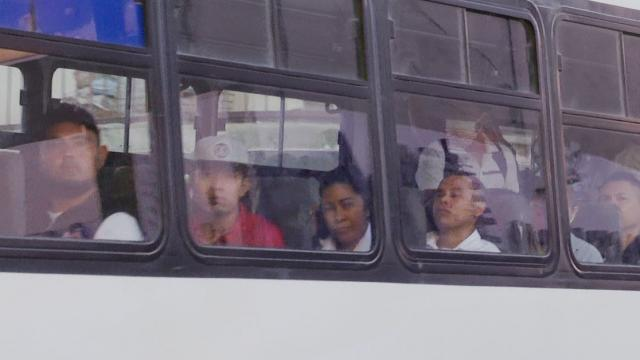 Choferes de transporte no usan cubrebocas