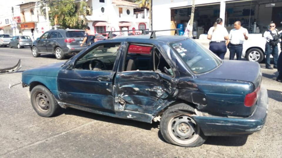 Accidente en Av. Fco Villa y Milán