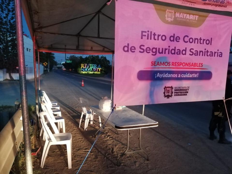 Relajan vigilancia en filtro sanitario de Jarretaderas