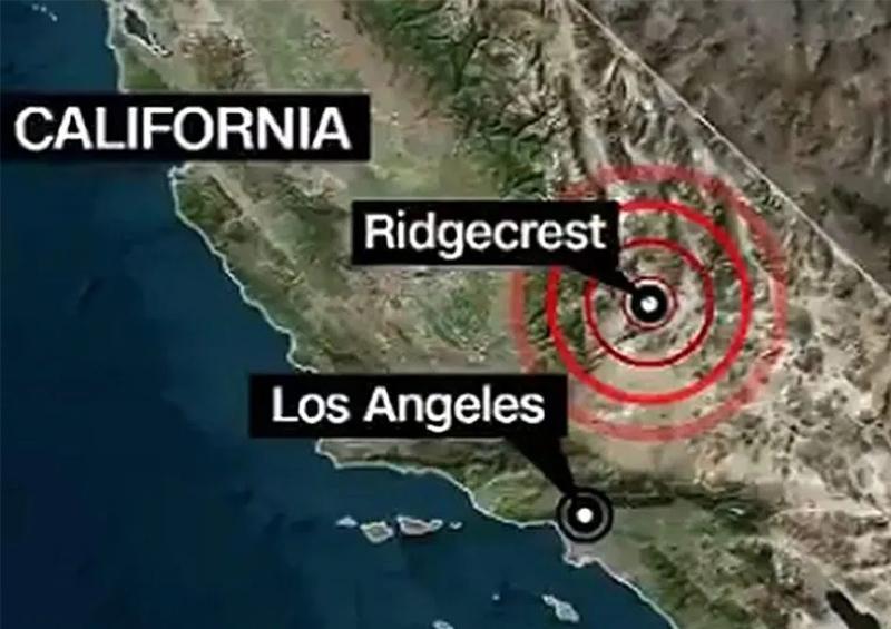 Sismo de magnitud 4.9 sacude California