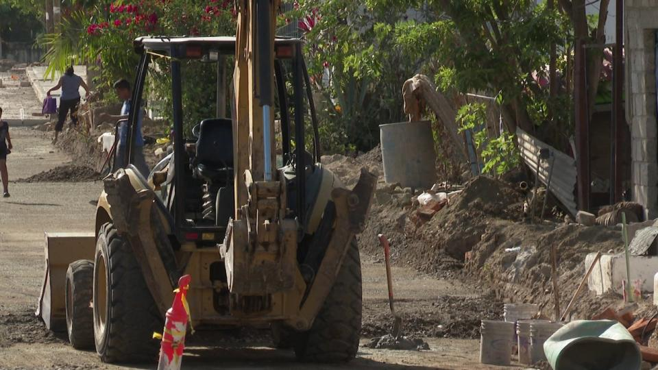 No paran obras públicas en Bahía de Banderas, reparan calles