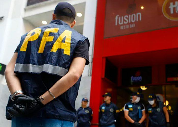 Detenidas 21.642 personas en Argentina por violar cuarentena