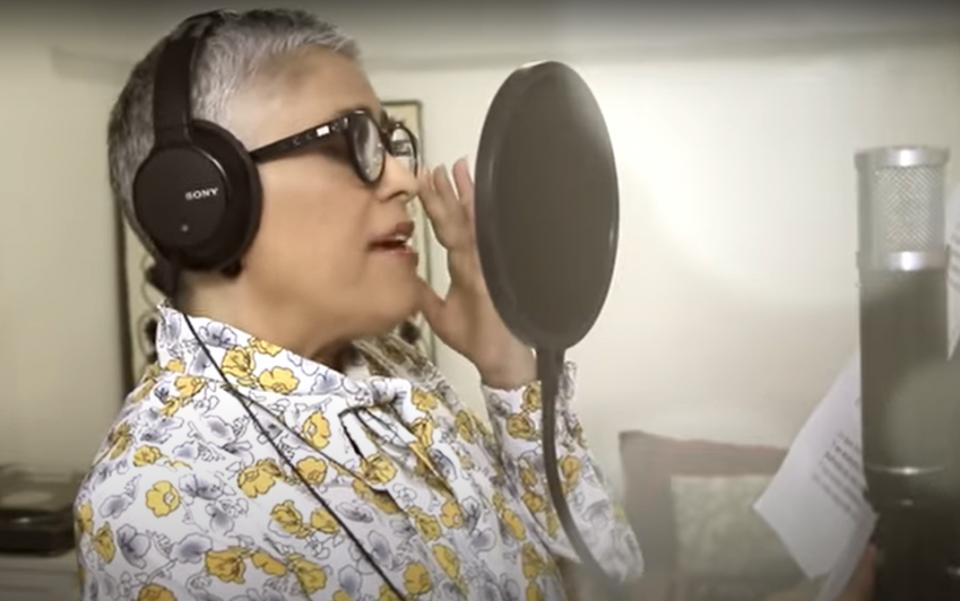 Lanzan canción motivacional, AMLO, su esposa y Eugenia León