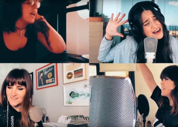 """Artistas españoles, mandan mensaje de aliento al interpretar versión de """"Resistiré"""""""