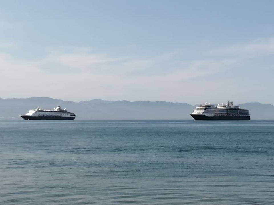 Van 7; hoy llegó el crucero Maasdam con 547 personas