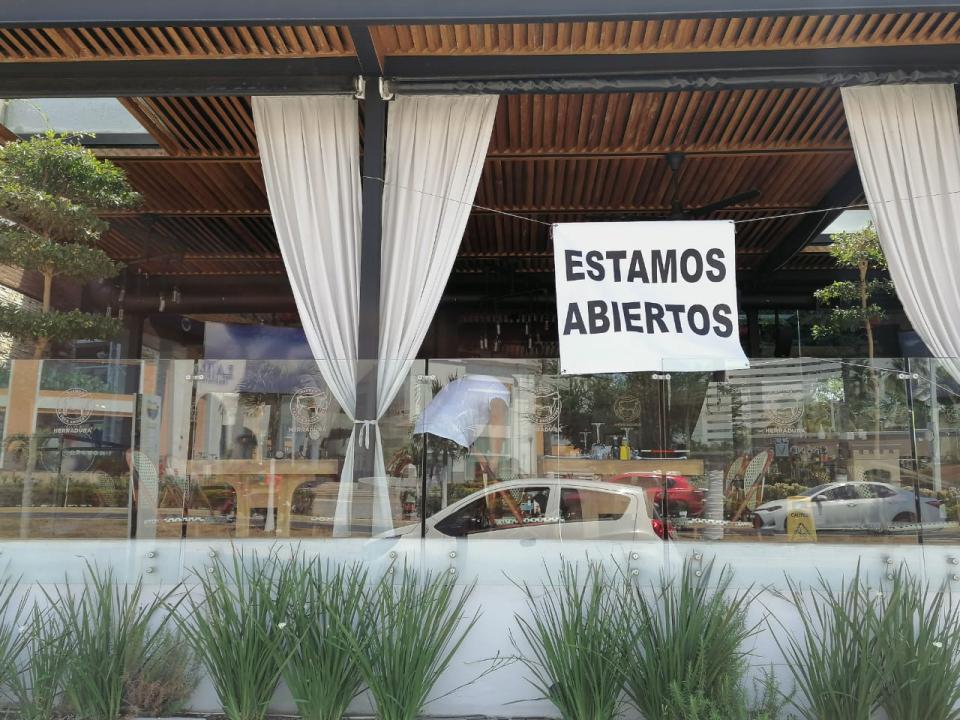 400 restaurantes abiertos para llevar y respetando sana distancia