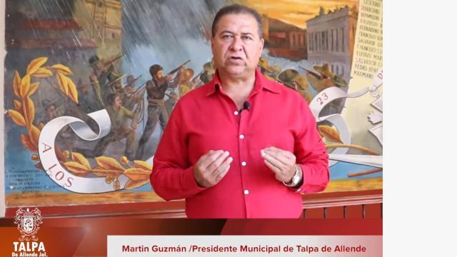 Martín Guzmán, presidente de Talpa