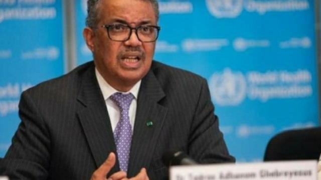Director general de la Organización Mundial de la Salud en conferencia de prensa