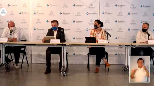 Conferencia de prensa Jalisco