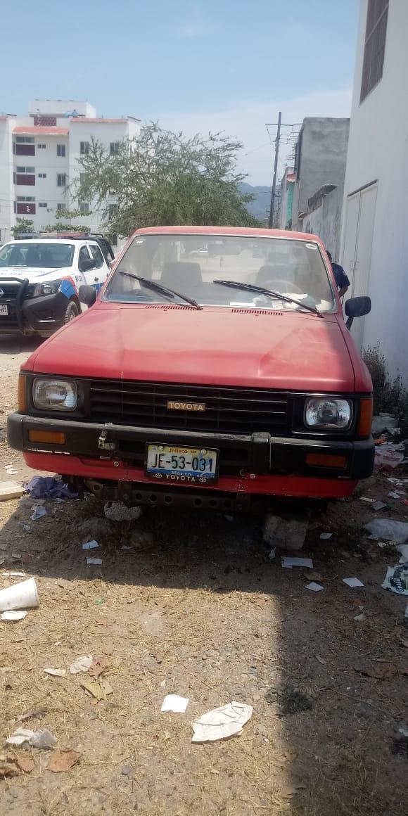 Recuperan vehículo que tenía reporte de robo