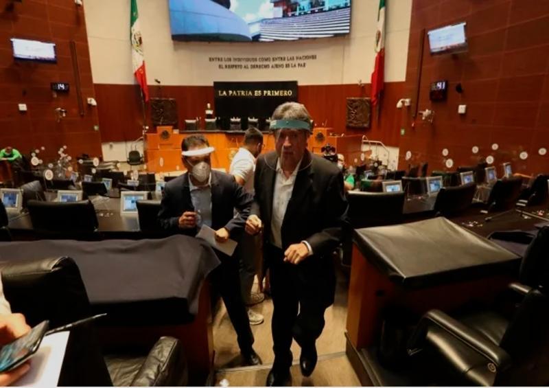 Senado reinicia labores entre sana distancia y consensos