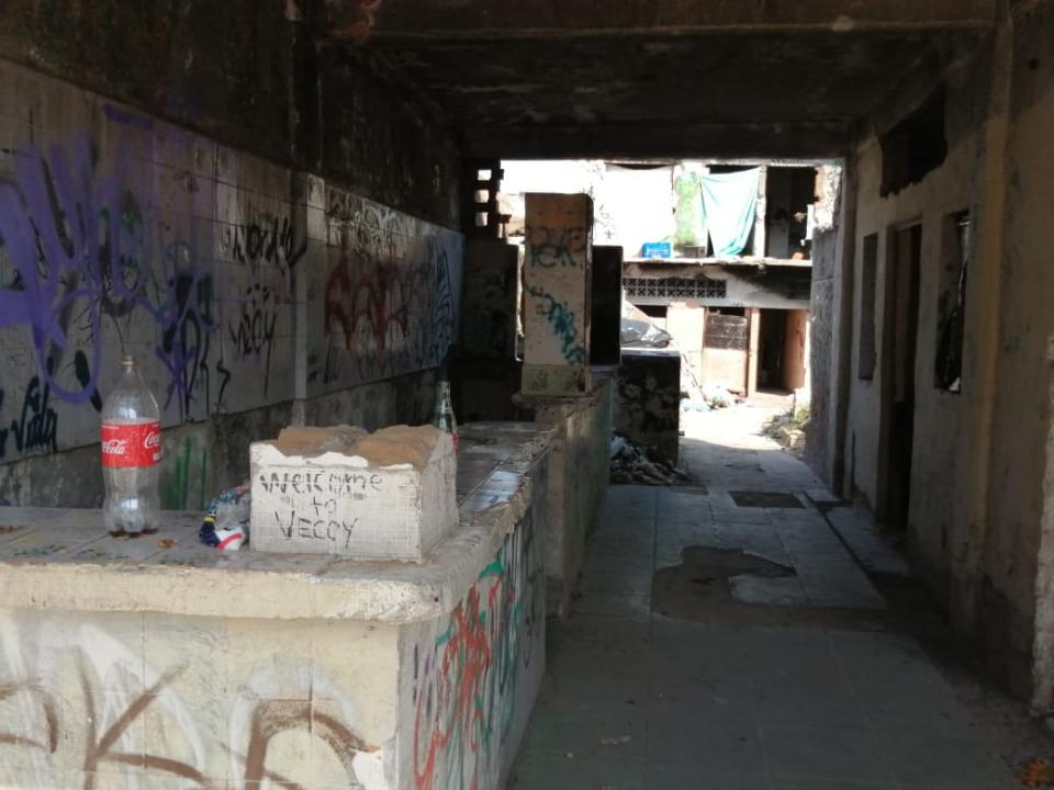 Hotel abandonado