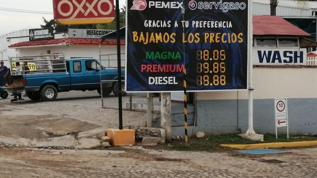 Precios en la Gasolina