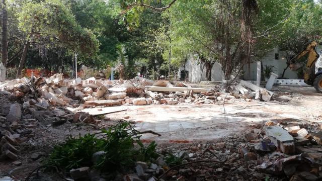 Restauración en Isla Cuale