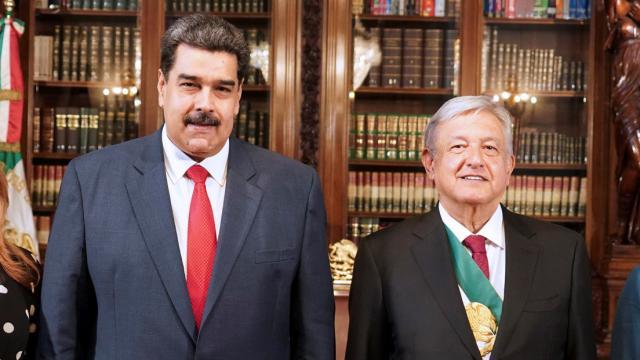 Nicolás Madura y AMLO