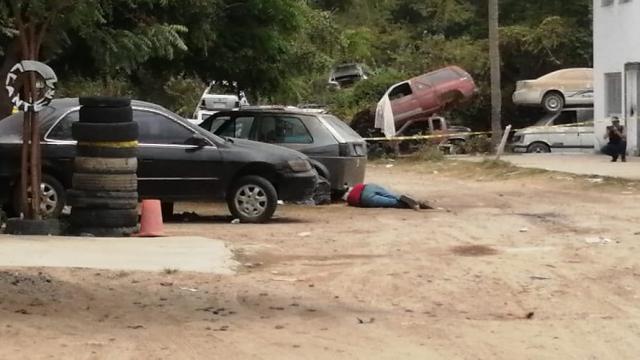 Cadáver en Guadalupe Victoria