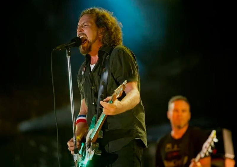 Pearl Jam dará concierto streaming totalmente en vivo
