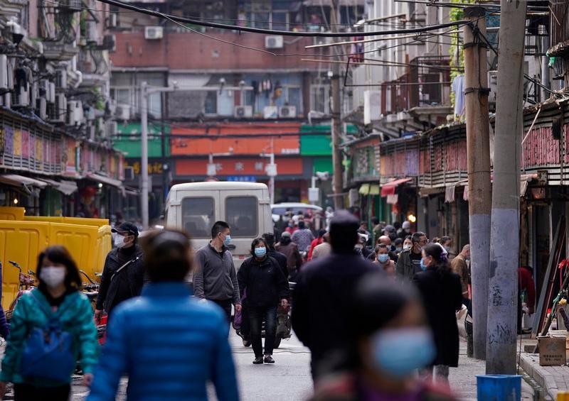 China en cuarentena un condado de 400.000 personas por rebrote