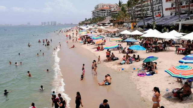 Playas concurridas, pocas medidas sanitarias y vigilancia