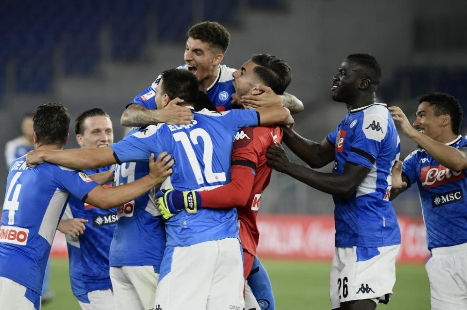 Napoles Campeón Copa Italia