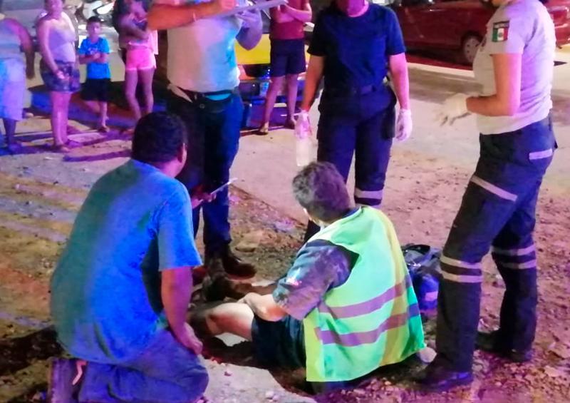 Enésimo motociclista arrollado; huye el reponsable